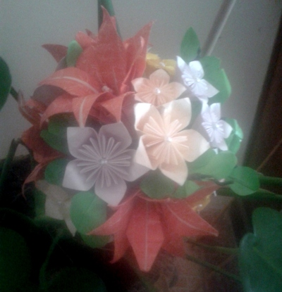Bouquet pardal ( front view)