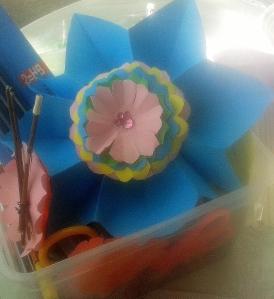 Flor de paper estrella