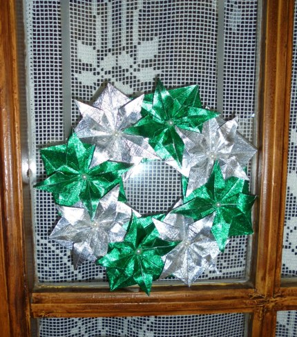 Green Xmas Wreath