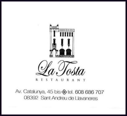 RESTAURANT TOSTA