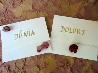 DUNIA i DOLORS cards