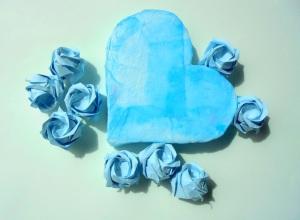 cor i roses blaves